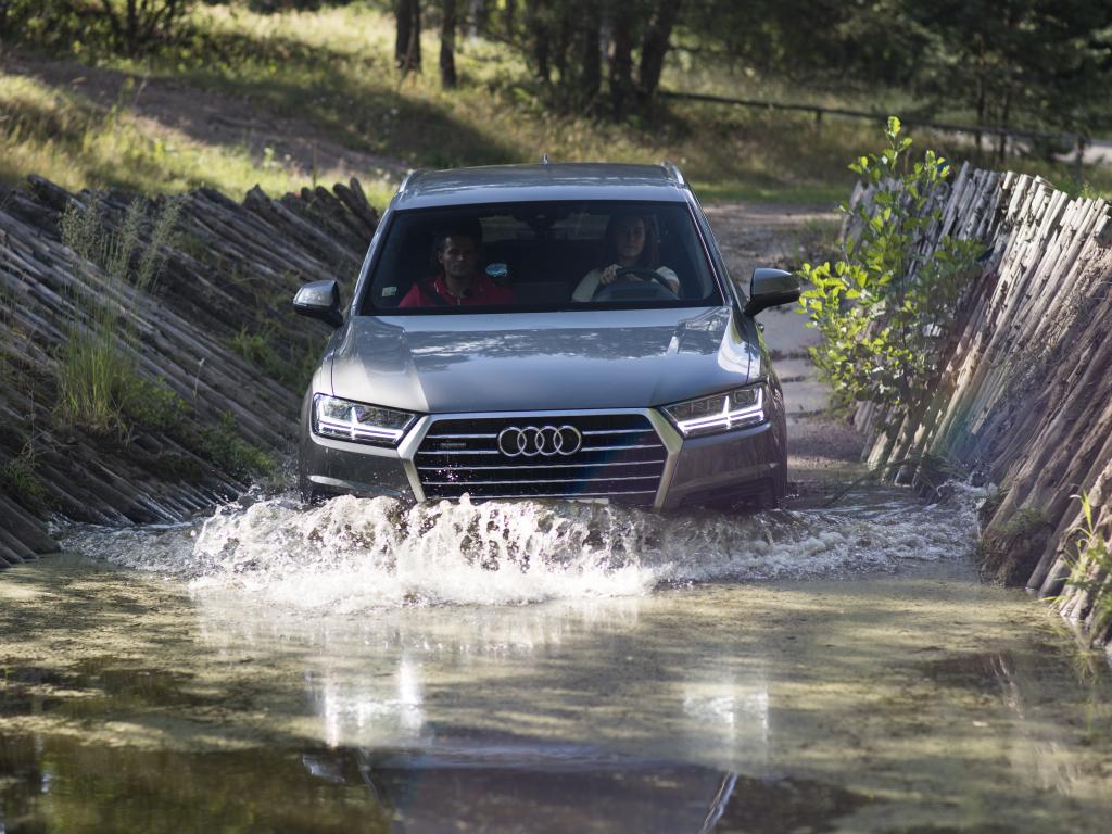 Bank, Strachová, Kraus, Koudelka a další sportovci za volantem vozů Audi