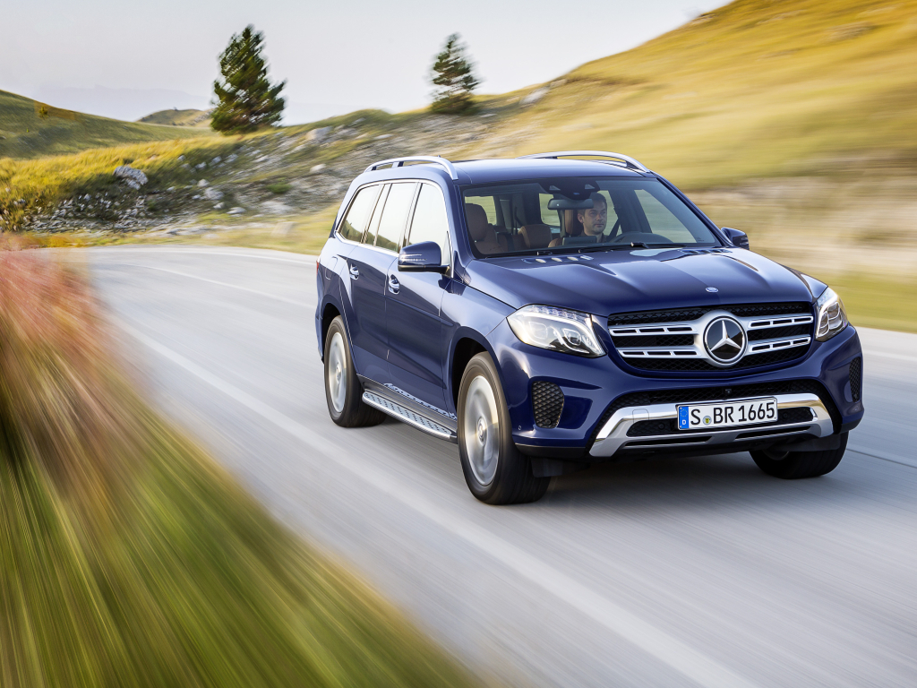 Nový Mercedes-Benz GLS - luxus jako v S Klasse