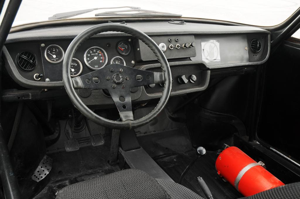 Škoda RS 130 interiér