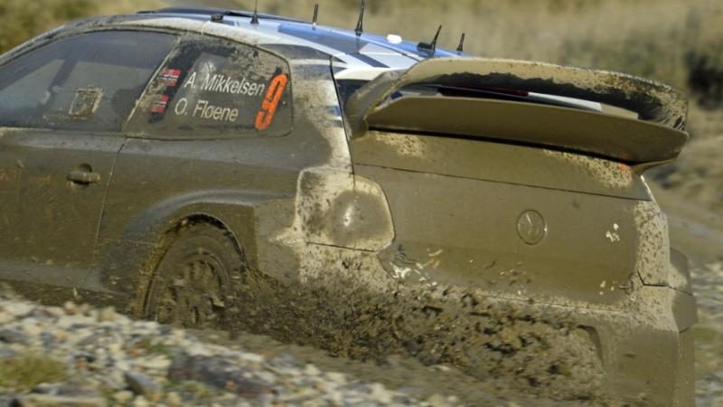 Rallye Velká Británie - Volkswagen Polo R WRC