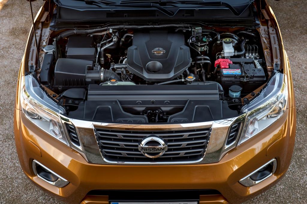 Nový Nissan NP300 Navara engine