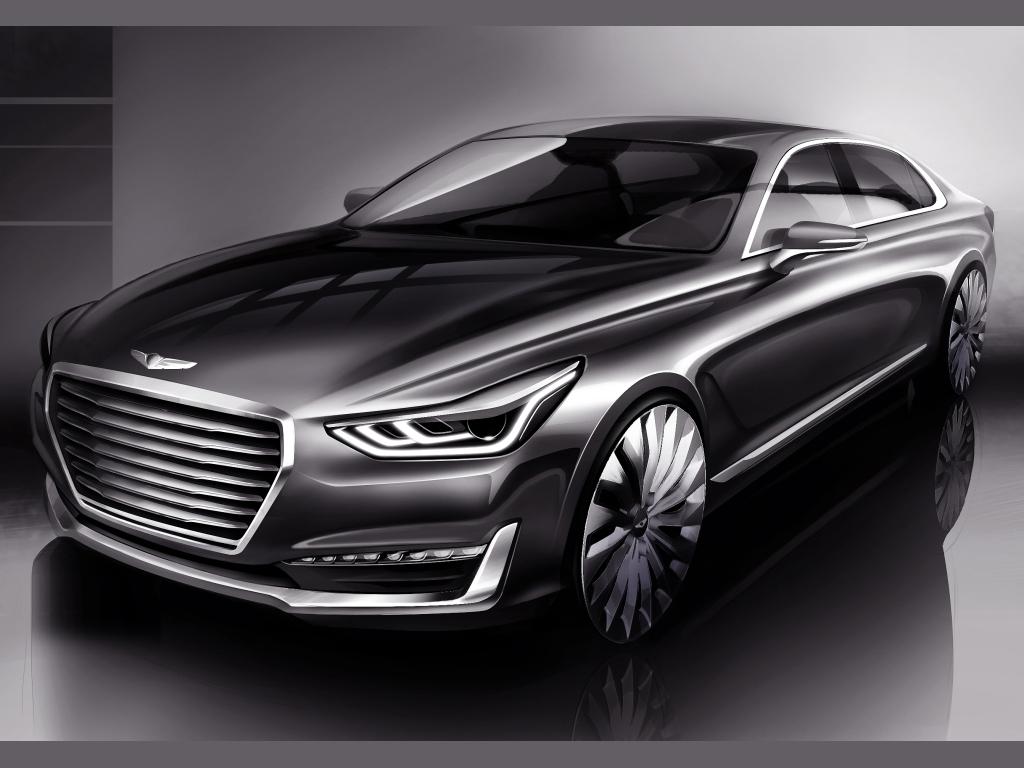 Hyundai vytváří luxusní značku Genesis a chystá limuzínu G90
