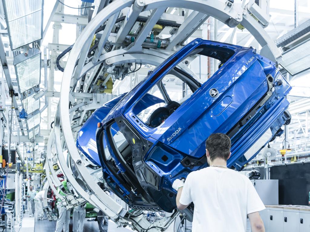 Škoda Auto výroba