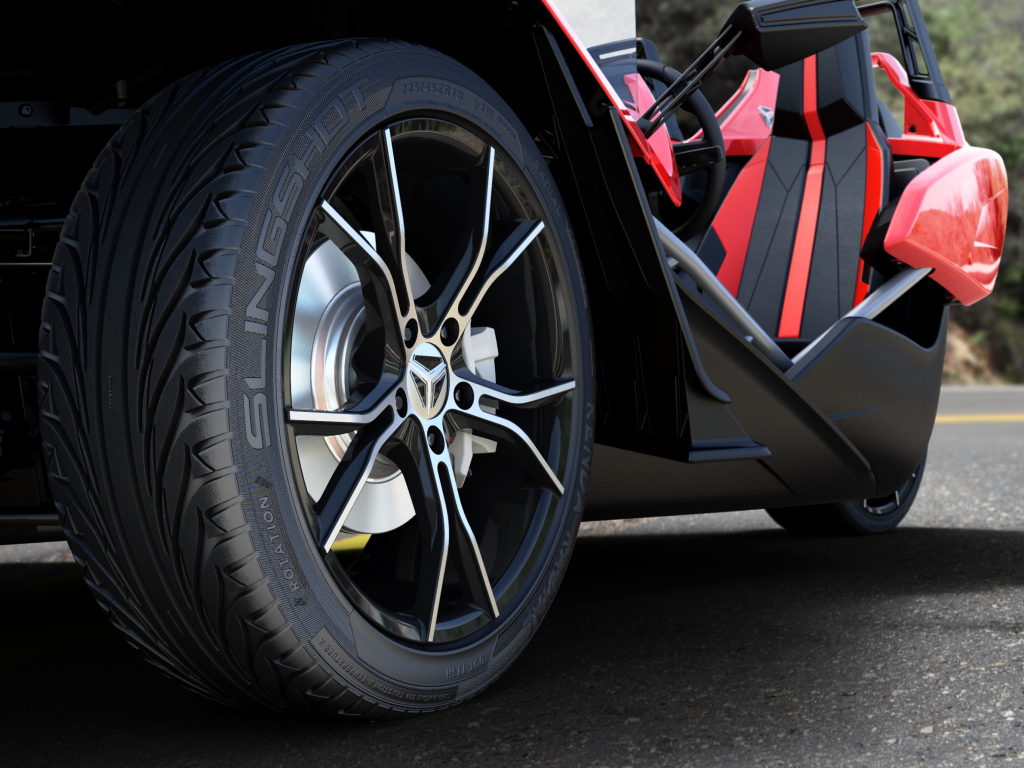polaris slingshot brake