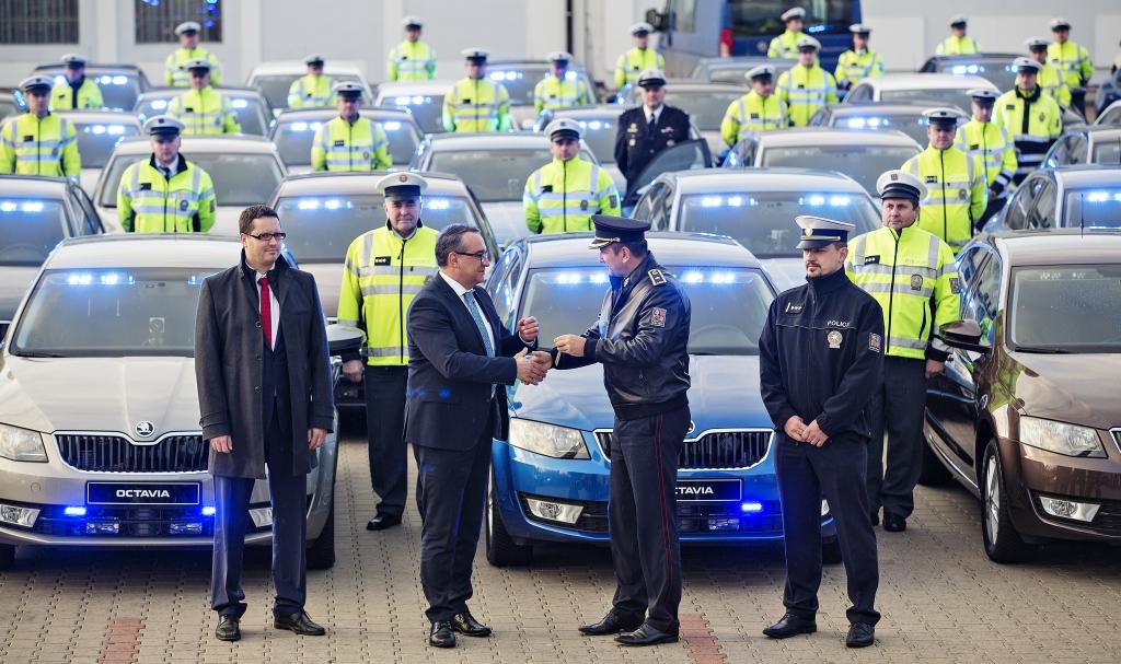policie měření rychlosti