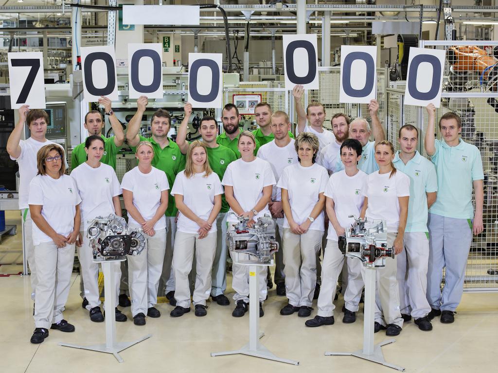 Mladoboleslavská Škoda vyrobila 7 milionů manuálních převodovek
