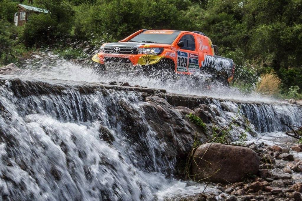 Martin Prokop Toyota Hilux Dakar 2016