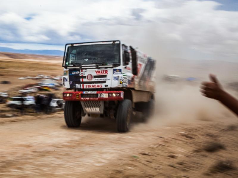 Horská pátá etapa na Rallye Dakar dala závodníkům zabrat
