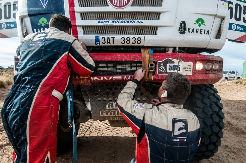Martin Kolom� Dakar crash