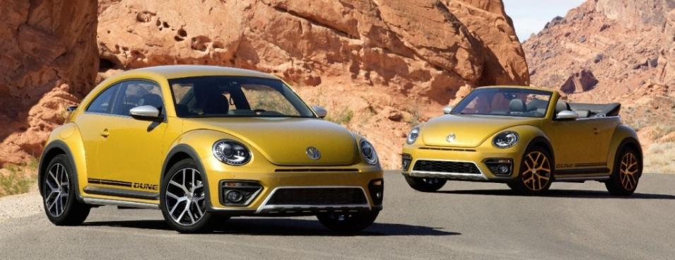new Volkswagen Beetle Dune