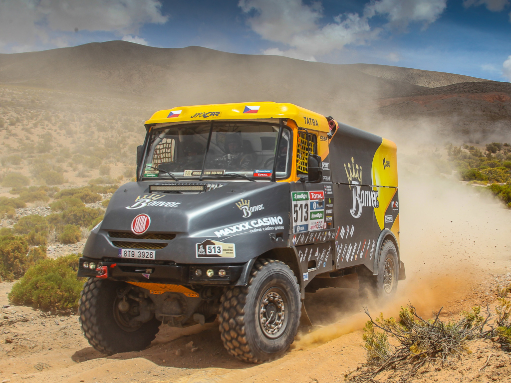 Osmá etapa na Rallye Dakar přinesla písečné duny