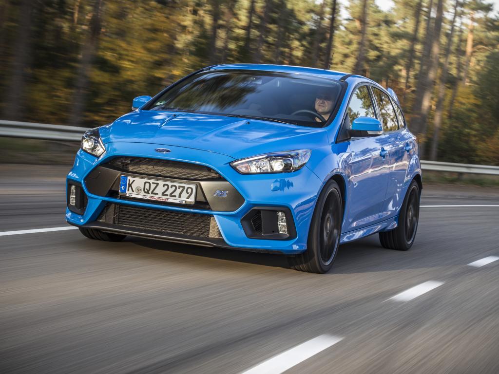 Ford právě zahájil výrobu nového Focusu RS