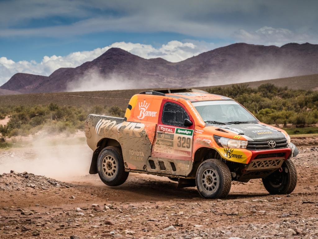 Češi na Dakaru - Martin Prokop poprvé a hned výborně