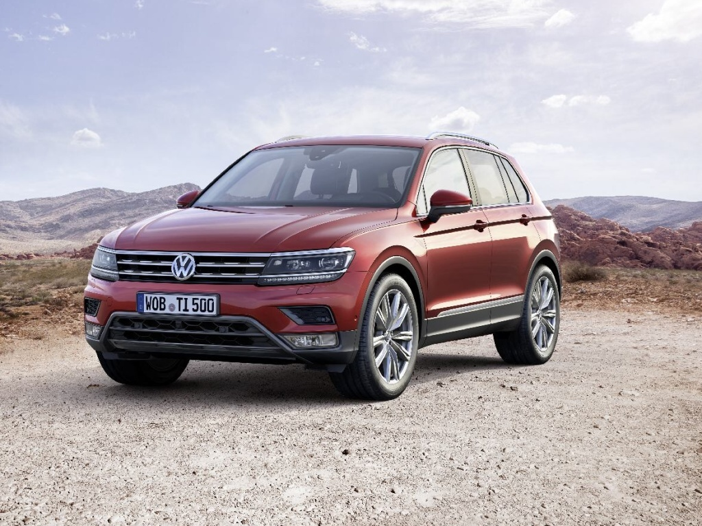 Nový Volkswagen Tiguan v Česku od 560 900 Kč