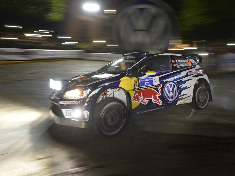 Rallye Mexiko - v kategorii WRC Latvala rychlejší než Ogier