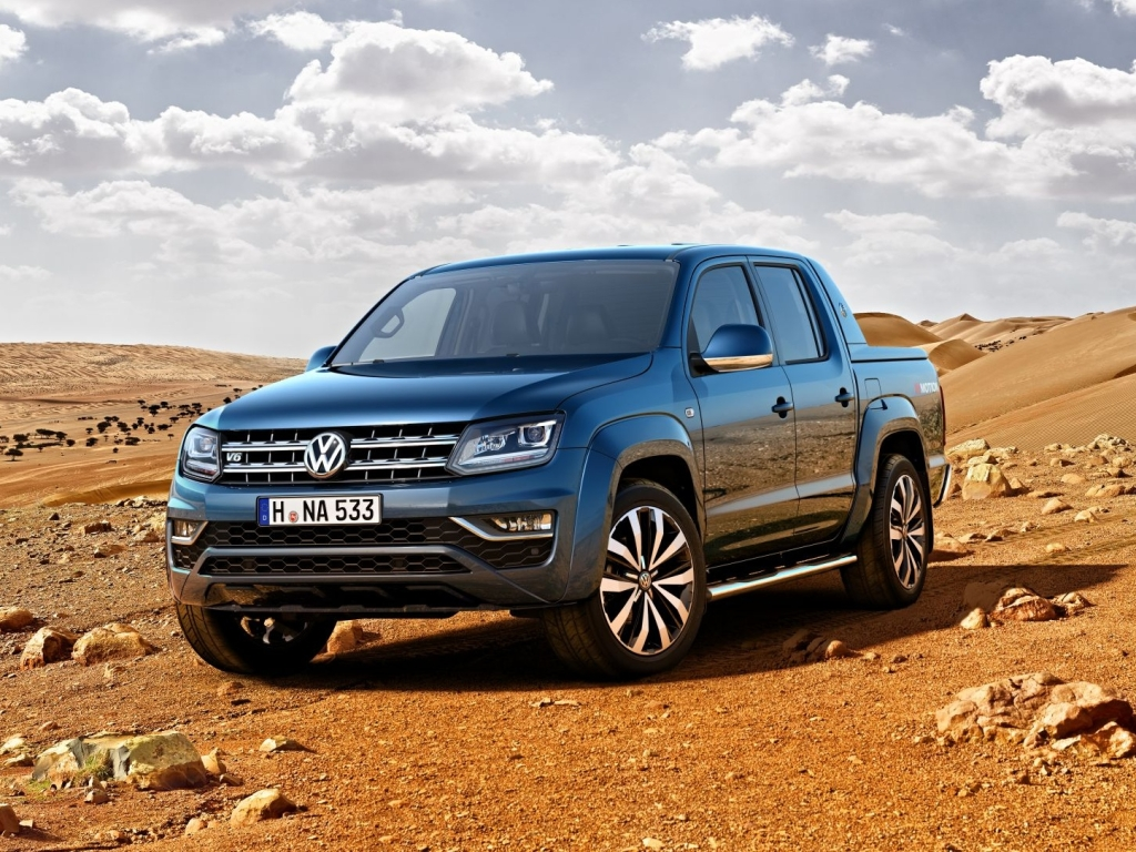 Volkswagen Amarok po faceliftu dostal šestiválec TDI