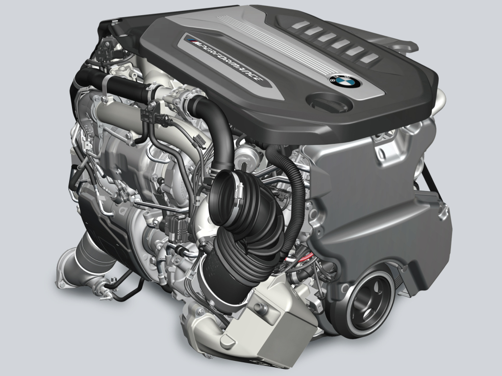 BMW 750d engine