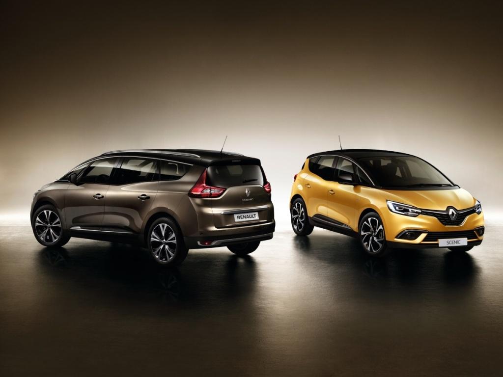 Nový Renault Grand Scénic nabídne sedm míst a dvacetipalcová kola