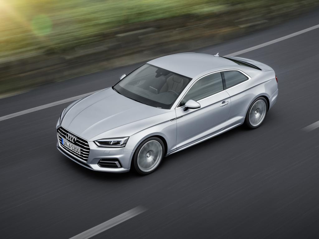 Nové modely Audi A5 a S5 Coupé byly oficiálně představeny