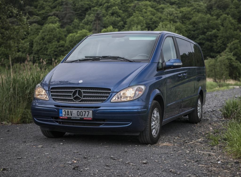 Test ojetiny: Mercedes-Benz Viano 2.2 CDi – nezdolný všeuměl
