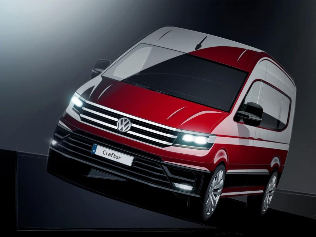 Nový Volkswagen Crafter již na podzim