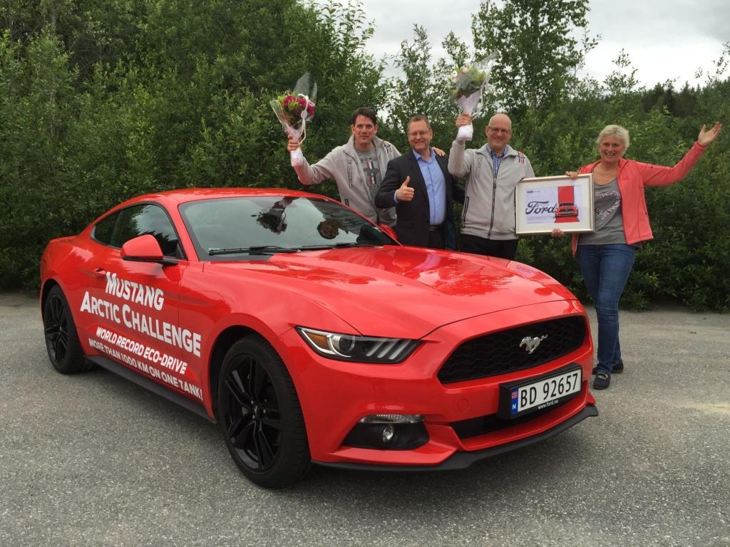 Kolik kilometrů ujede Ford Mustang na jednu nádrž? Budete se divit