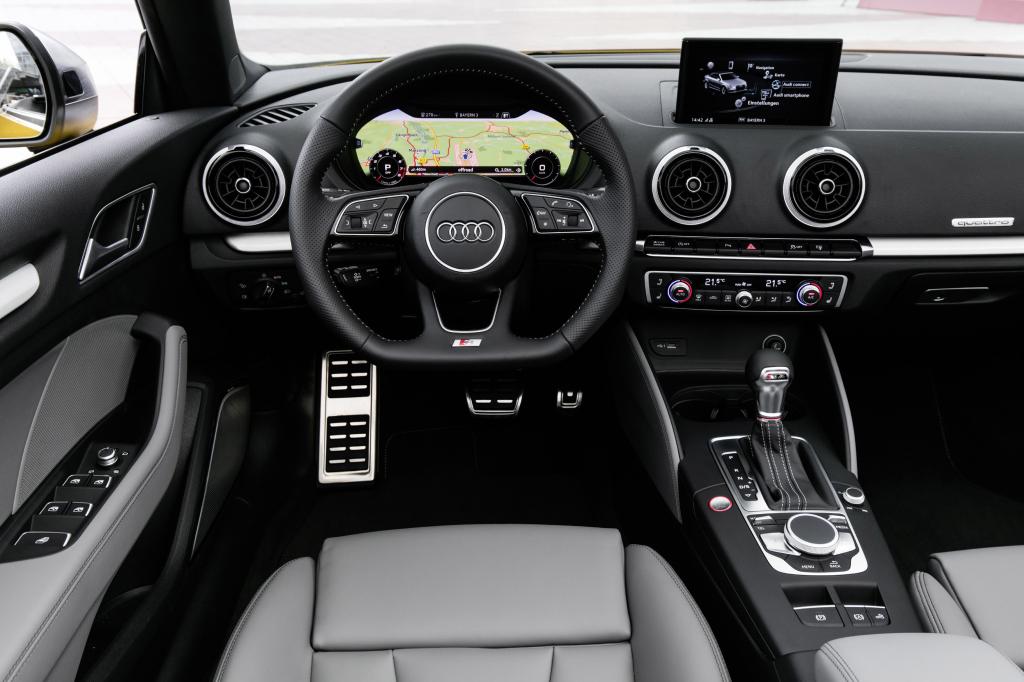 Audi A3 cocptit