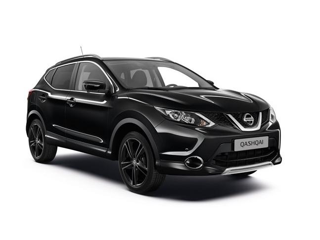Nissan Qashqai nově v limitované edici Black Edition
