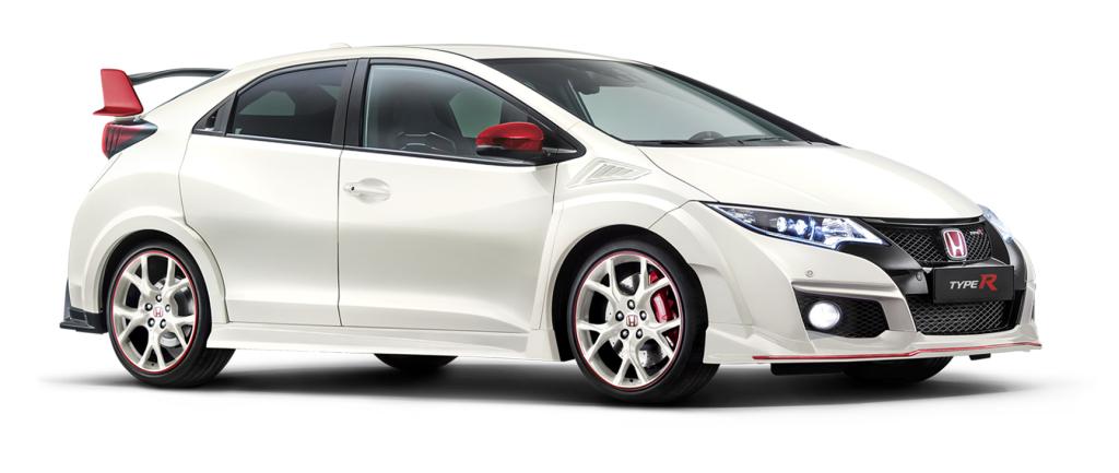 Honda Civic Type R White edition