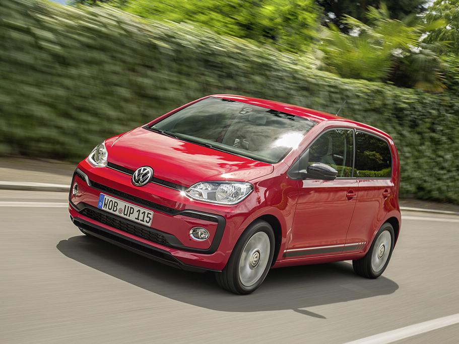 Nový Volkswagen up! beats dostal  hudební aparaturu o výkonu 300 W