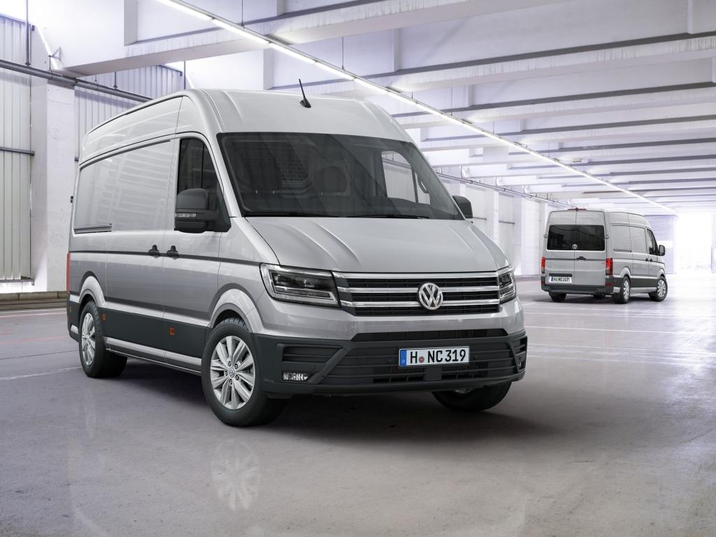 Nová generace Volkswagenu Crafter je tady, v prodeji od prosince