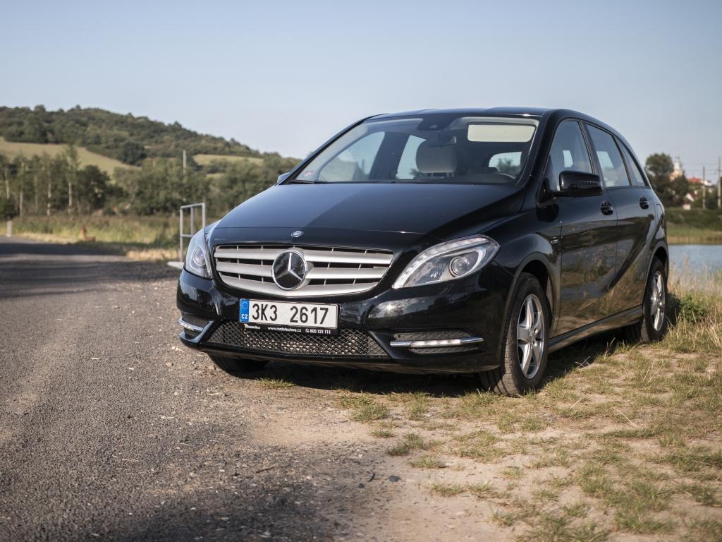 Test ojetiny: Mercedes-Benz B 180 CDI 7G-DTC – Mercedes se vším všudy
