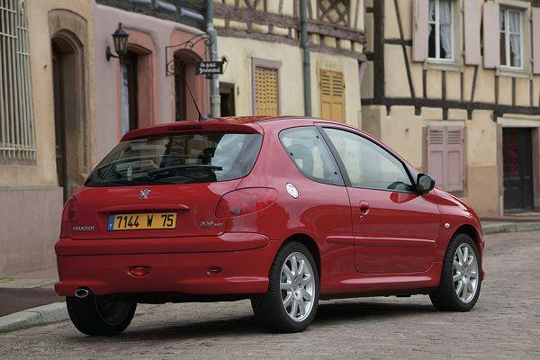 Peugeot 206 HDI 1.6 - DV6 TED4  FAP