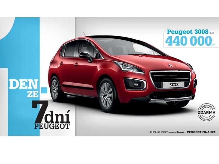 Akce 7 dní Peugeot letos již podruhé