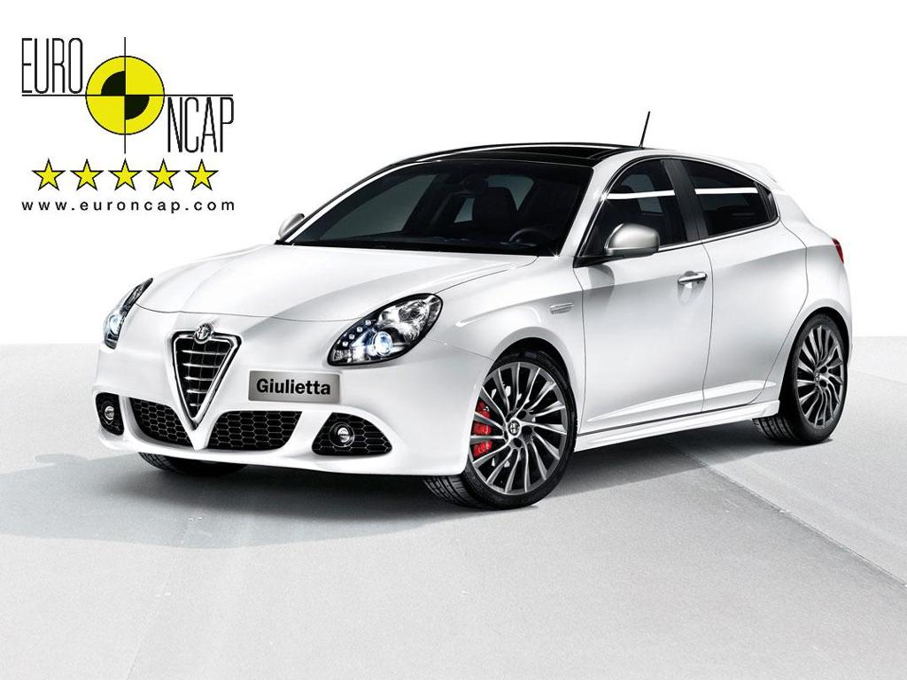 Alfa Romeo Giulietta: Euro NCAP potvrzuje špičkovou bezpečnost
