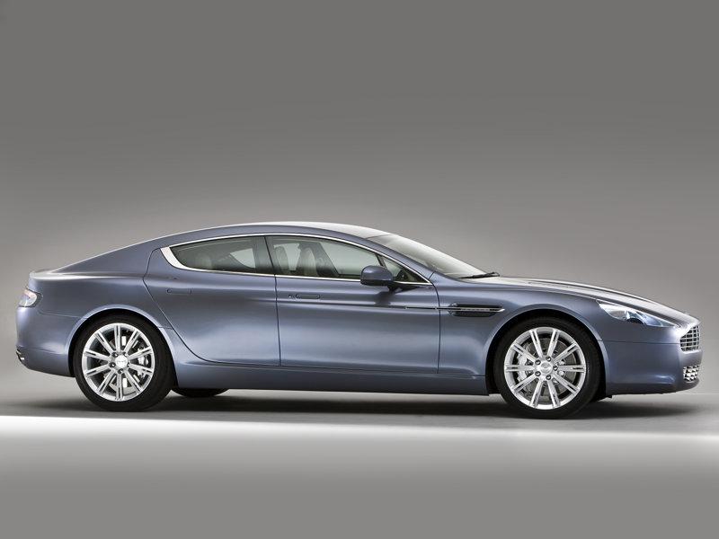 Aston Martin Rapide: Dvoje dve�e nav�c a v�roba v Rakousku!