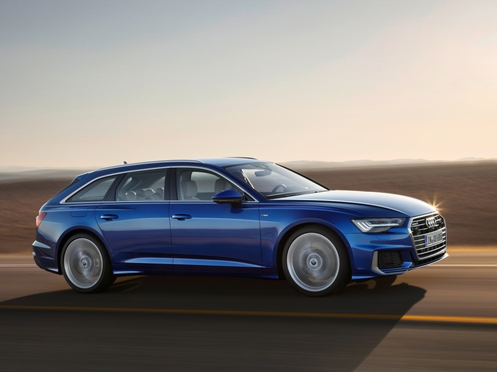 Audi A6 Avant si zachovalo přes sportovní tvary velký kufr