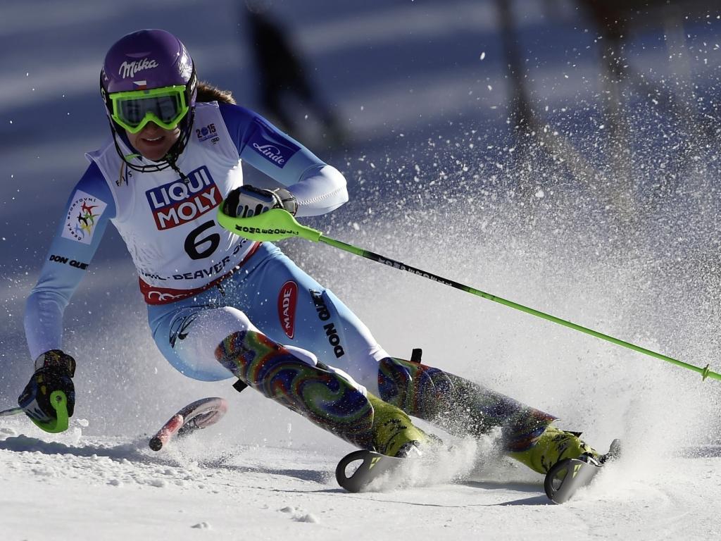 Audi gratuluje slalomářce Strachové ke světovému bronzu