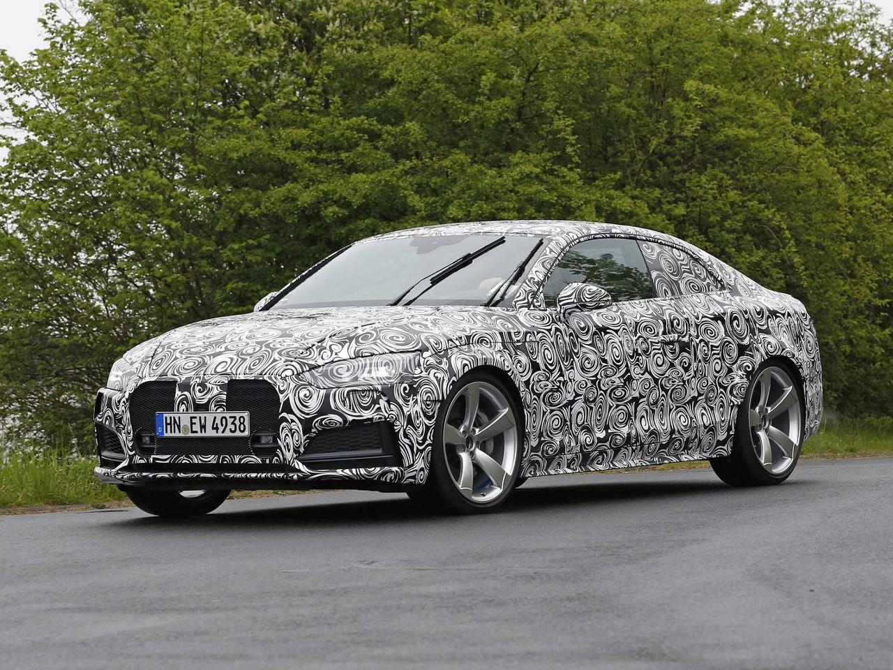 Audi RS5 s motorem Porsche znovu spatřeno!