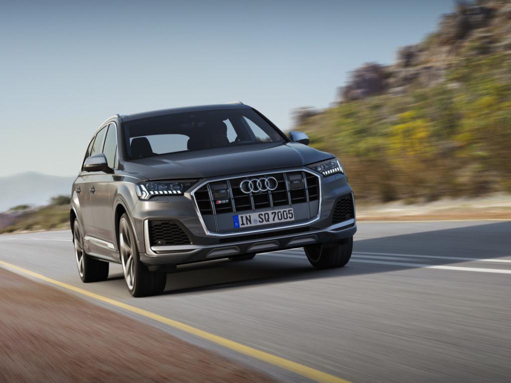 Audi SQ7 TDI brzy v předprodeji, stovku umí za 4,8 s
