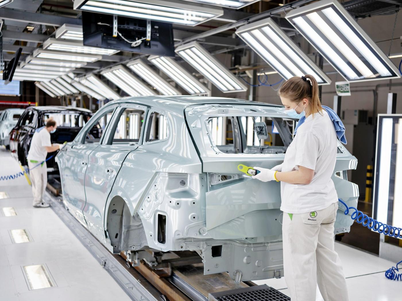 Automobilka Škoda vyrobila již 100 000 elektrifikovaných vozů iV
