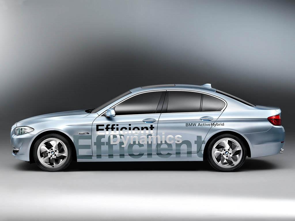 BMW 5 ActiveHybrid: Po sedmičce pětka