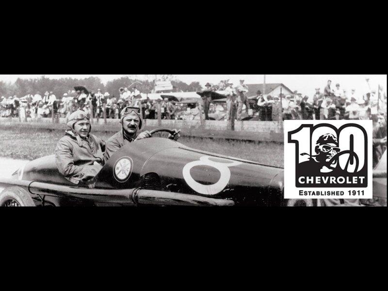 Chevrolet slaví 100. výročí