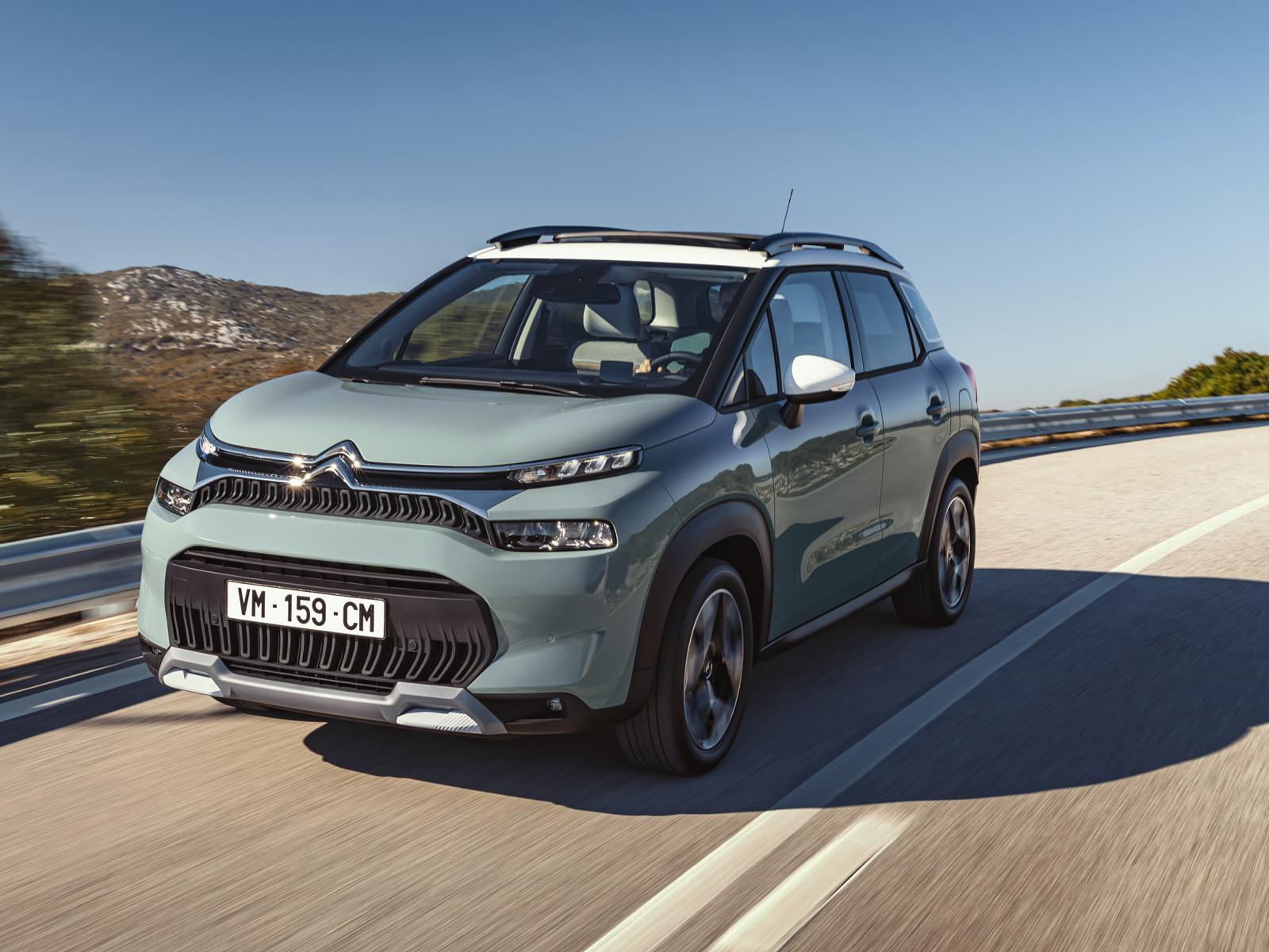 Citroën C3 Aircross je tady s cenou od 359 900 Kč