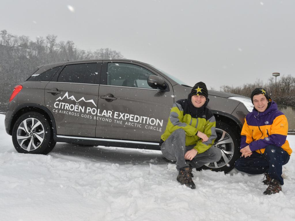 Citroën C4 Aircross se vydal na polární kruh