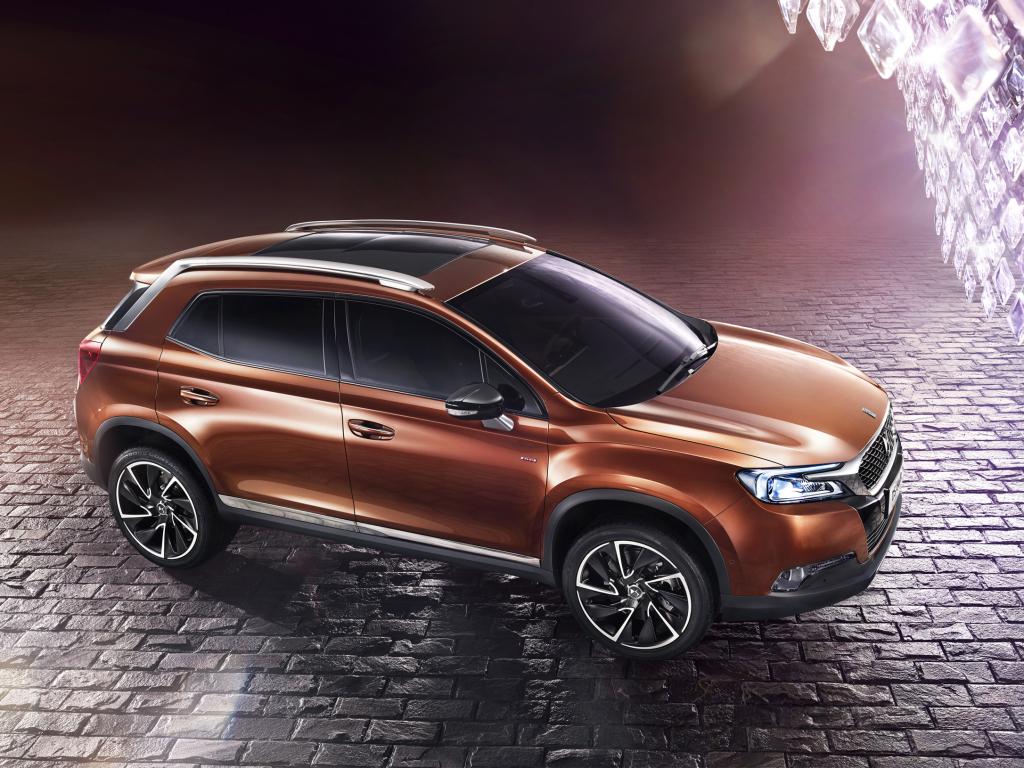 Citroën DS 6WR - další prémiové SUV nejen pro Čínu