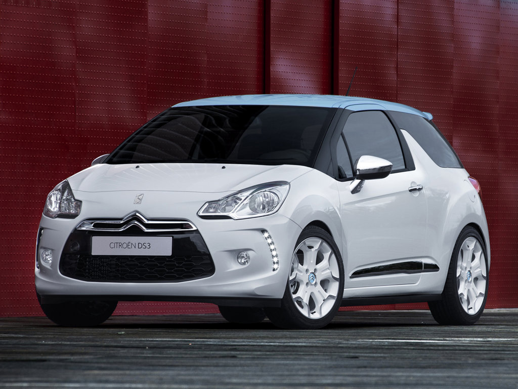 Citroën DS3 - Ve Francii od 15 400 Eur.