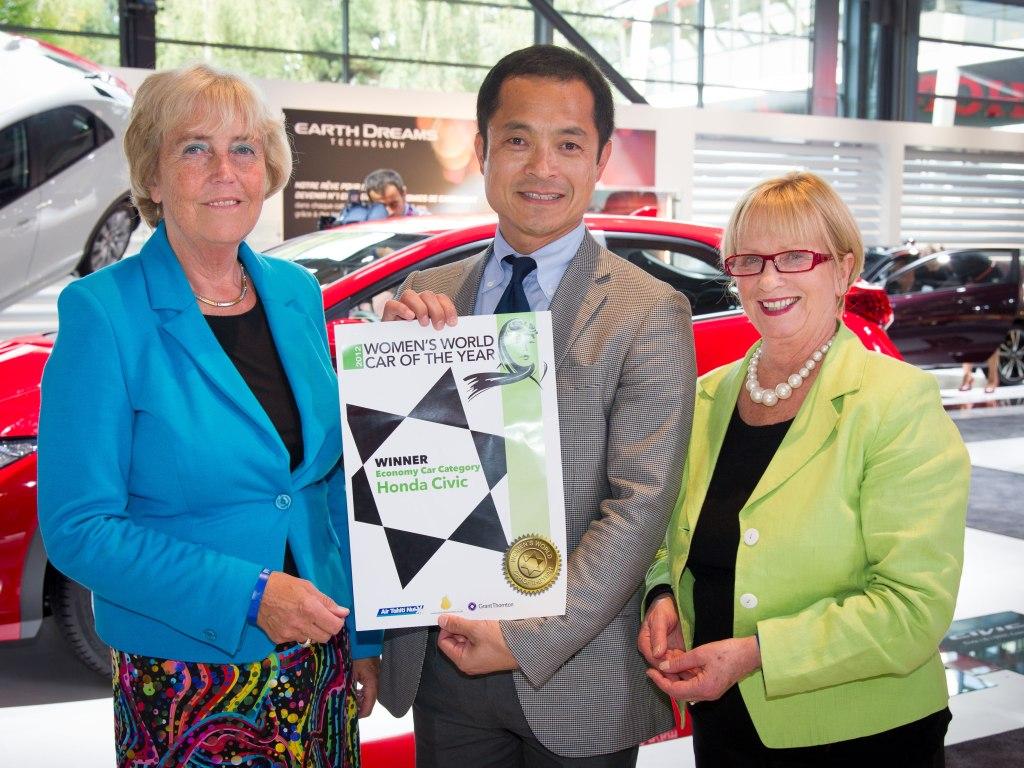 Civic získal ocenění the Women's World Car of the Year 2012
