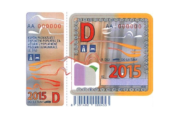 Dálniční známky pro rok 2015 nepodraží