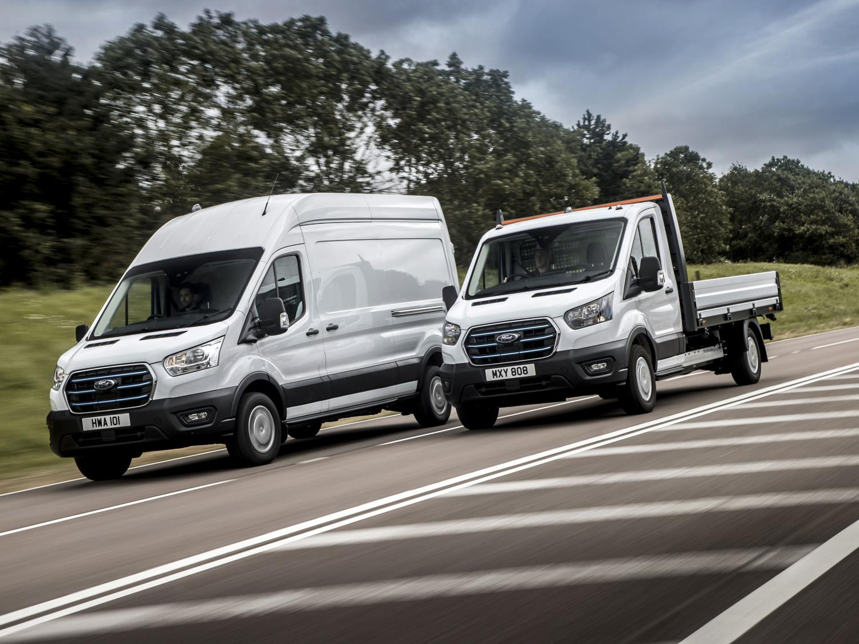Elektrická dodávka Ford E-Transit vyjíždí na evropské silnice